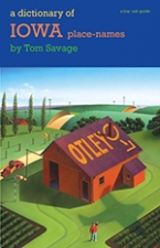 Front cover of A Dictionary of Iowa Place-Names
