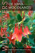 Front cover of Wildflowers of Iowa Woodlands