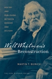 Front cover of Walt Whitman's Reconstruction
