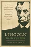 Front cover of Lincoln in His Own Time