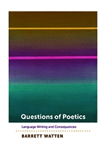 Front cover of Questions of Poetics