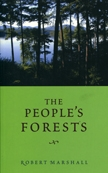 Front cover of The People's Forests
