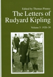 Front cover of The Letters of Rudyard Kipling, Volume 5: 1920-30