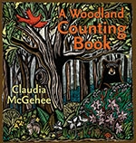 Front cover of A Woodland Counting Book