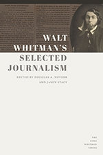 Front cover of Walt Whitman's Selected Journalism