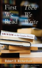 Front cover of First We Read, Then We Write