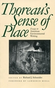 Front cover of Thoreau's Sense of Place