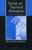 Front cover of Textual and Theatrical Shakespeare