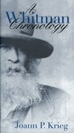 Front cover of A Whitman Chronology